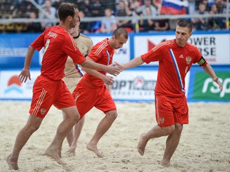 Сборная России по пляжному футболу стала чемпионом Евролиги