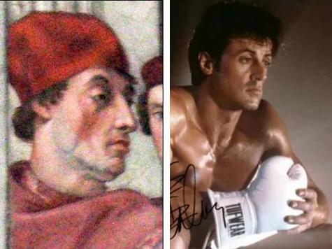 Сильвестра Сталлоне обнаружили на древней фреске