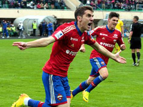 ЦСКА сохранил лидерство благодаря своему воспитаннику