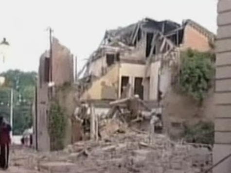 Мощное землетрясение произошло в Италии