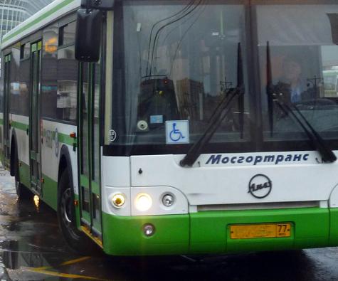 К Марьинскому парку отправили новый автобус