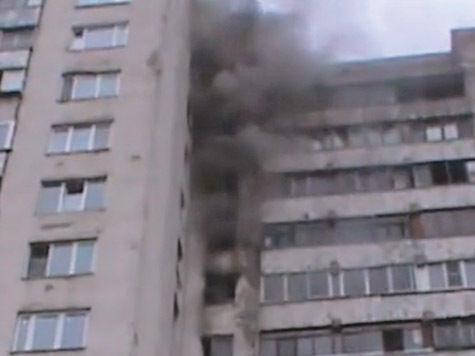 Дом сгорел в пылу коммунальных разборок?