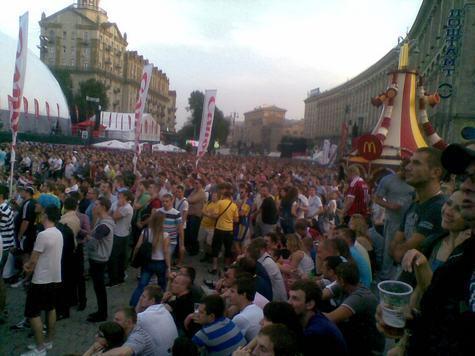Евро-2012: Как я открыл украинский фронт