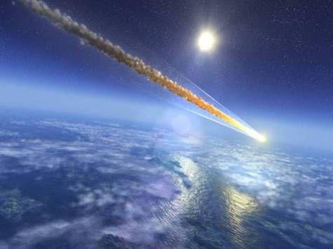 Метеорит взорвавшийся над Крымом превратил ночь в день