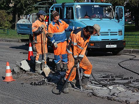 Ремонт дорог в Москве  не безнадежен