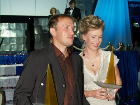 В Москве наградили лучших в парусном спорте
