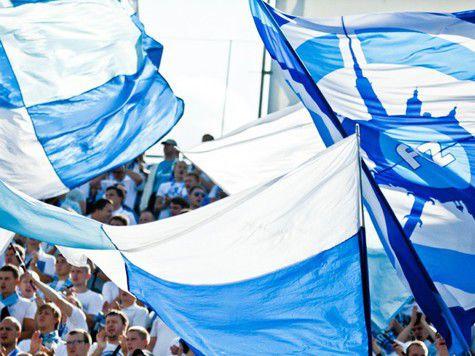 «Терек» требует наказать болельщиков «Зенита» за сожженный флаг Чеченской республики