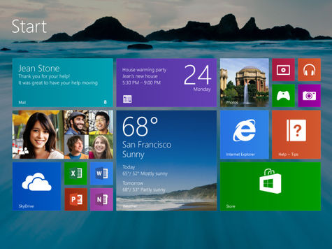 Microsoft выпустила ОС Windows 8.1
