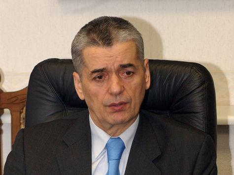 Ольга Голодец отправила в отставку Геннадия Онищенко