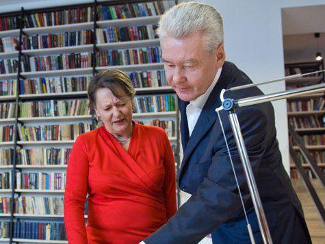 Собянин открыл первый в Москве медиацентр