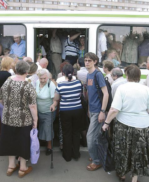 Горячие маршруты московского транспорта