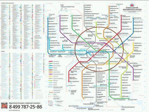 Схема метро студии Лебедева