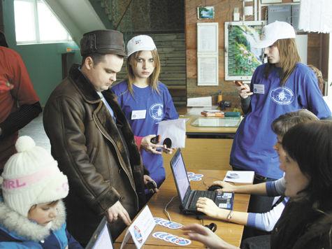 В Климовске 10 молодых людей проголосовали за самих себя