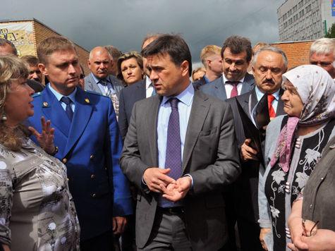 Андрей Воробьев обезглавил Можайск