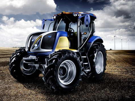 Впервые в истории в поле выезжает водородный трактор
