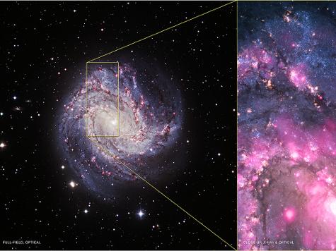 Астрономы зафиксировали рядом с черной дырой странный энергетический всплеск