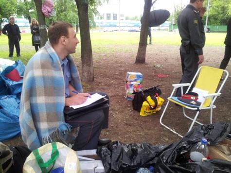 Арестованы четверо участников лагеря в поддержку Pussy Riot
