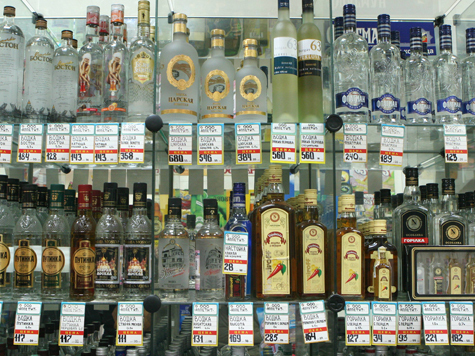 На покупку алкоголя будет еще меньше времени
