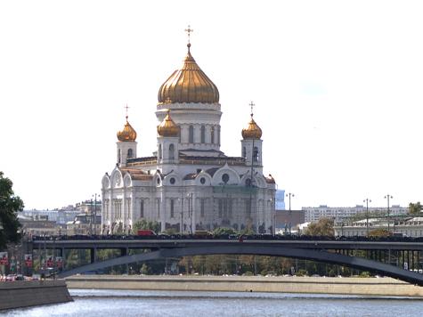 Собянин отказался ремонтировать Храм Христа Спасителя