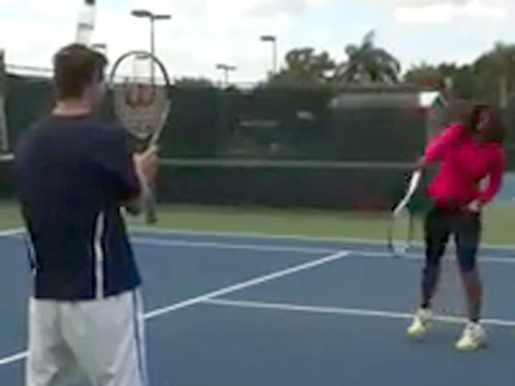 Серена не смогла повторить подвиг Федерера. ВИДЕО