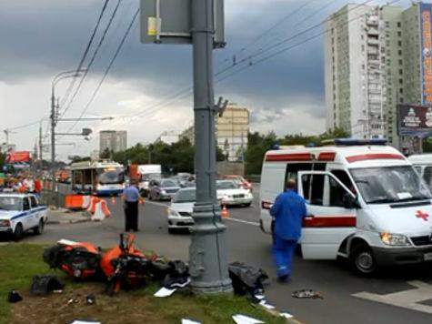 Байкер, погибший в ДТП на Щелковском шоссе, превысил скорость