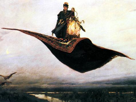 Американцы изобрели ковер-самолет