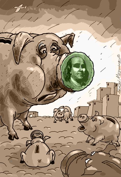 Рубль готовят к президентским выборам