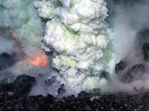 Ученые нашли вулкан-великан размером с Англию