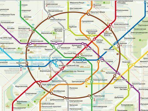новые схемы метро