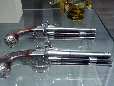 Госдума запретит дуэли на антикварных пистолетах