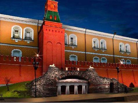 В Александровском саду будет светиться даже газон