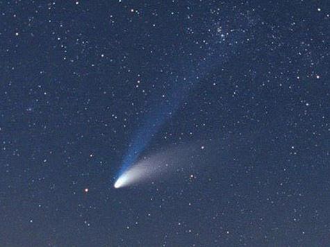 Земляне увидят след кометы, пролетавшей мимо нас 2000 лет назад