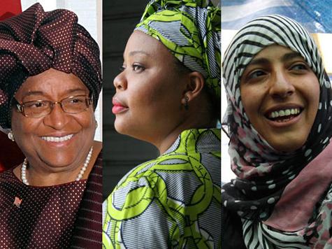 Нобелевская премия мира присуждена защитницам женщин