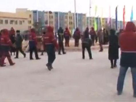Полиция расстреляла толпу в казахском Жанаозене. ВИДЕО
