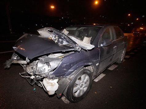 Пьяный водитель отправил в больницу семью диакона в полном составе