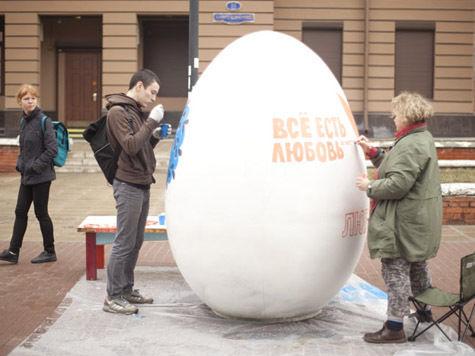 Кузнецкий мост украсят пасхальными  яйцами-гигантами