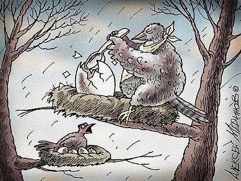 За спиной Путина благотворят что хотят