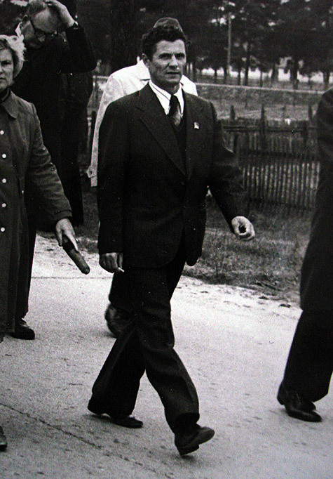 Бывший директор ЧАЭС Виктор Брюханов.