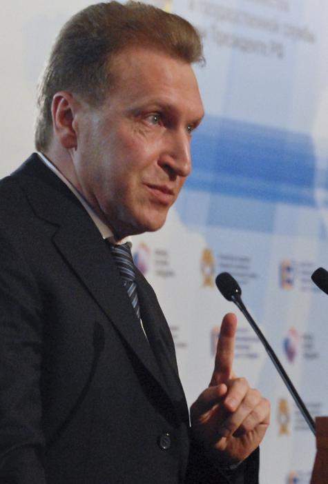 Шувалов возглавил протестное движение