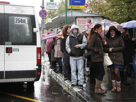 Сентябрь в Москве побил два мокрых рекорда