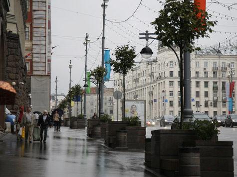 Сколько зелени осталось на Тверской?