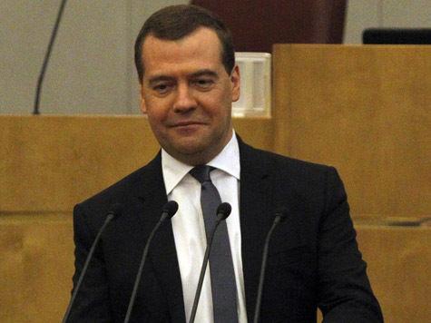 Медведев встретился с глобальным разумом