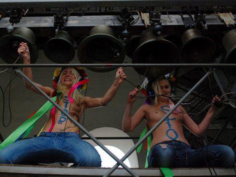 FEMEN заявляет о похищении трех своих участниц
