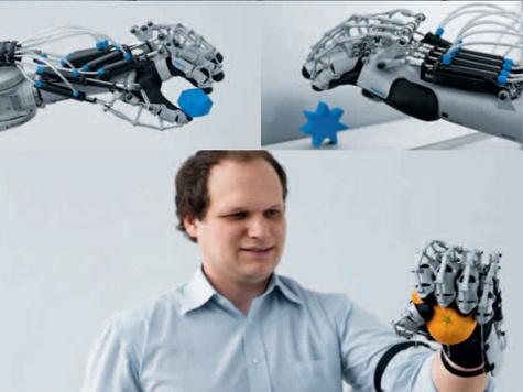 Немецкие инженеры придумали автоматическую перчатку-усилитель руки. ВИДЕО