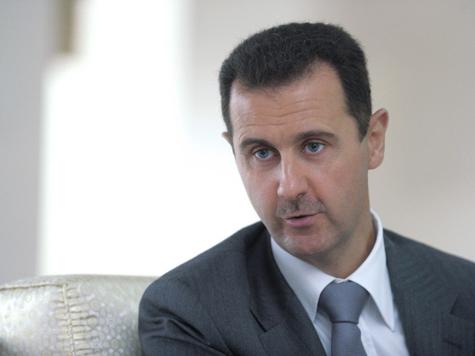 Асад свалил вину за будущую войну на Запад