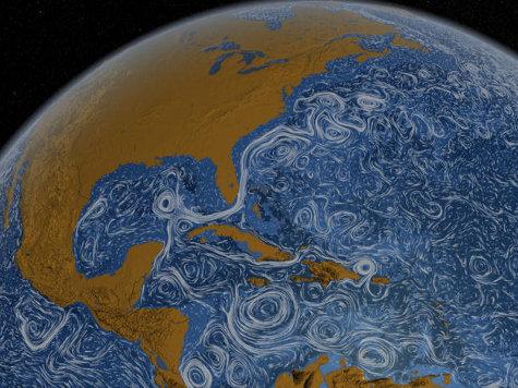 НАСА запечатлела в земном океане гигантские воронки. ВИДЕО