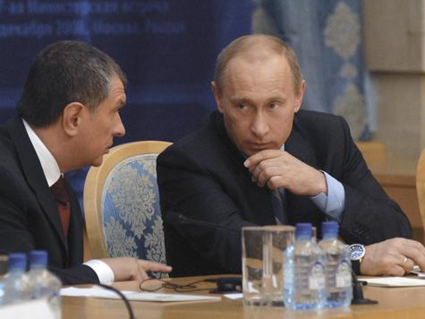 Путин «назначил» Сечина спасителем кормушки бюджета