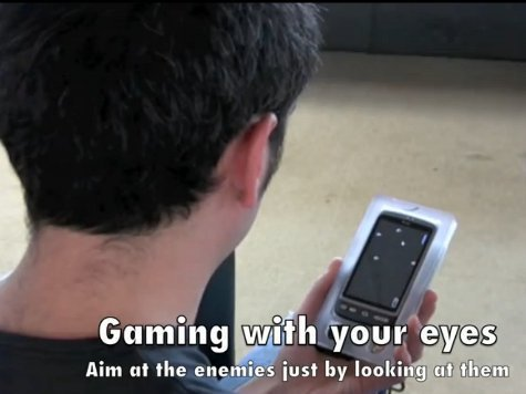 Датчане придумали метод управления смартфоном одним взглядом