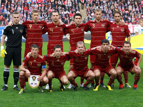 Россия опустилась в рейтинге ФИФА на 22-е место