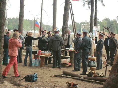 Лагерь на вынос
